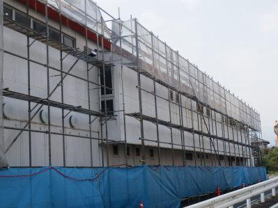 屋根の補修・塗装工事1