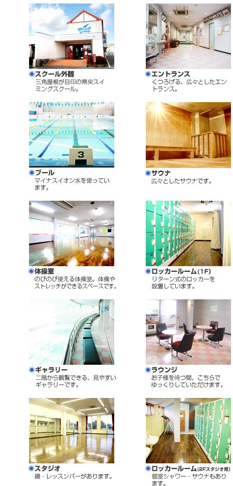 県央スイミングスクール 施設写真